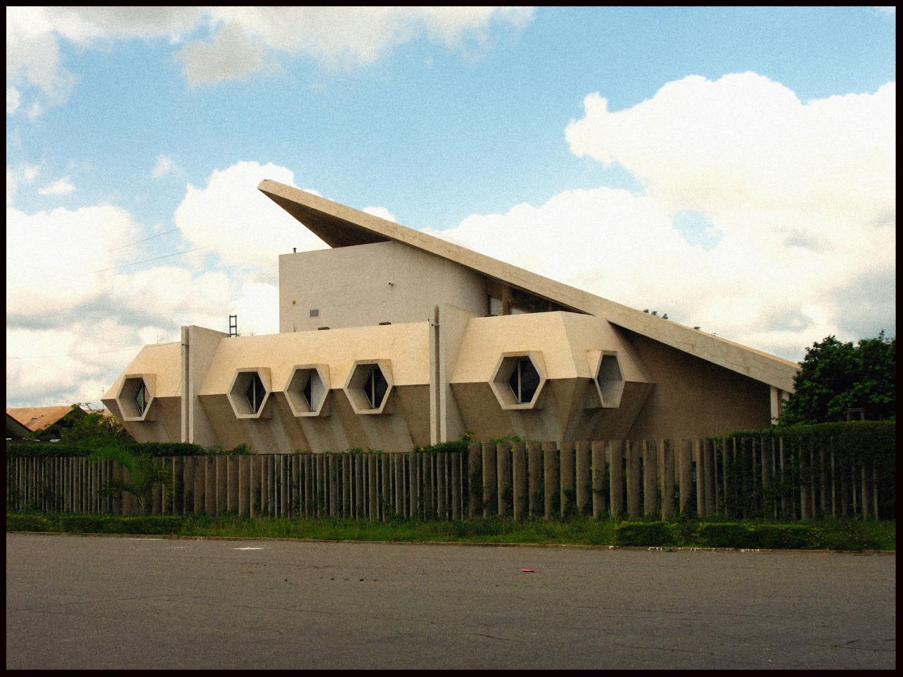 Bâtiment modernes de Yamoussoukro