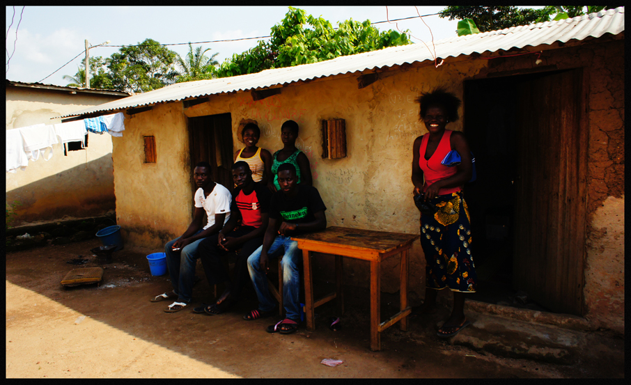 Etudiants logeant à Dogohiri