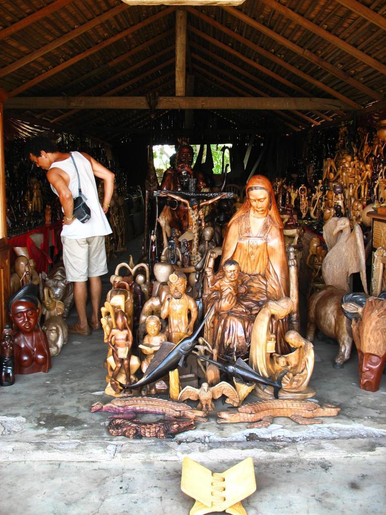 Stand de sculptures
